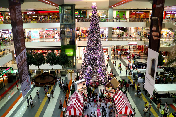 Filipino Christmas: SM Lanang Premier